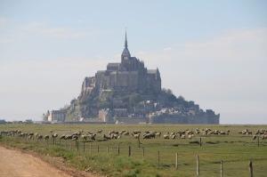 Une étape du GR 22 vers le Mont St-Michel