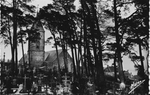 L.P cimetière et église