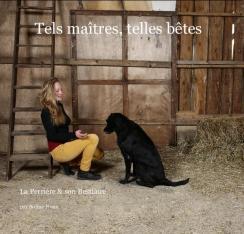 Soline ROUX, photographe. Née en 1982, Soline Roux vivra 17 ans en Afrique où elle a pris ses premiers clichés dès l'âge de 9 ans, grâce à son premier appareil offert par son père. Sa vocation était née. Après des études d'arts appliqués, Soline s'est lancée professionnellement dans la photo, elle n'a alors que 22 ans. Sélectionnée pour le concours Paris Jeune Talent en 2005, et lauréate du Prix spécial du Jury en 2009, Soline Roux, s'est déjà fait une place dans le monde très confidentiel de la photo. Installée à La Perrière depuis quatre ans, elle a participé au Marché d'Art où elle reçu le prix spécial du jury. L'an dernier, elle a réalisé un projet qui lui tenait à cœur, photographier les habitants du village avec leur animal favori, sorte de reconnaissance envers ceux qui l'ont accueillie, au sein de leur communauté. Après avoir exposé une soixantaine de clichés Tels Maîtres, Telles Bêtes est un livre plein d'humanité, de sincérité, de tendresse et d'humour ! Un très bel hommage à la relation homme-animal et aux habitants de La Perrière. N'hésitez pas à la contacter pour tout types de commandes photographiques: 06 15 77 36 74 solinephotopro@gmail.com