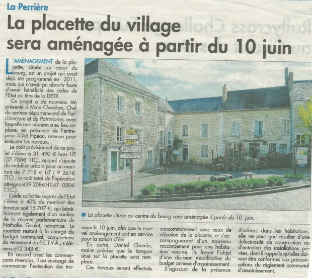 L.P article placette