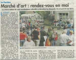 Article Marché d'Art